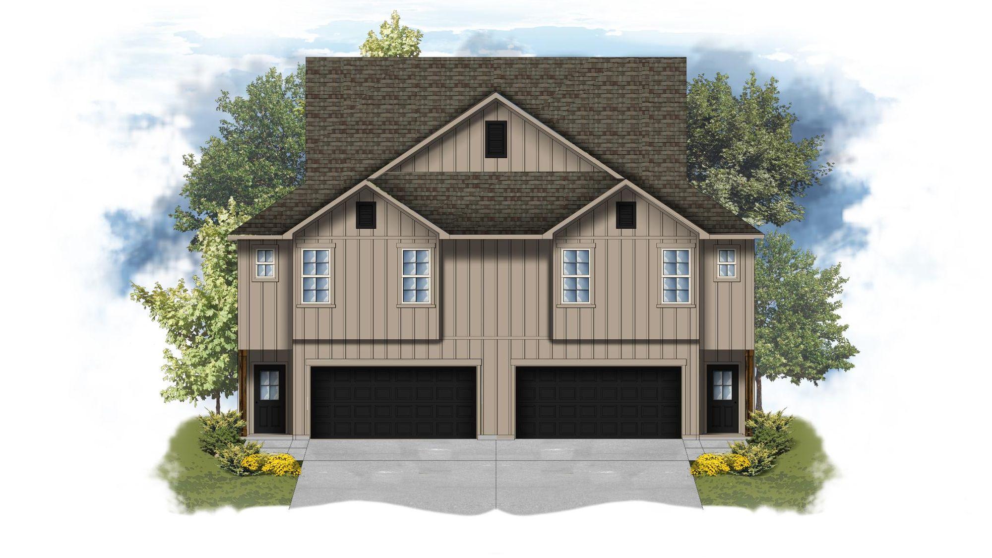 Anthony I B Open Floor Plan - DSLD Homes