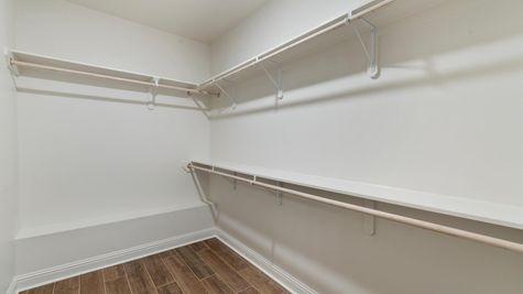 DSLD Homes - Ambassador Gardens - Klein II B - Lafayette, LA - Model Home Master Closet
