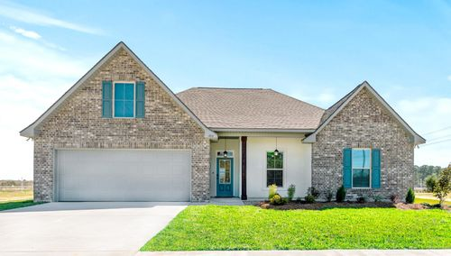 Porter's Cove - Model Home Exterior - Cognac IV B - Lake Charles, LA