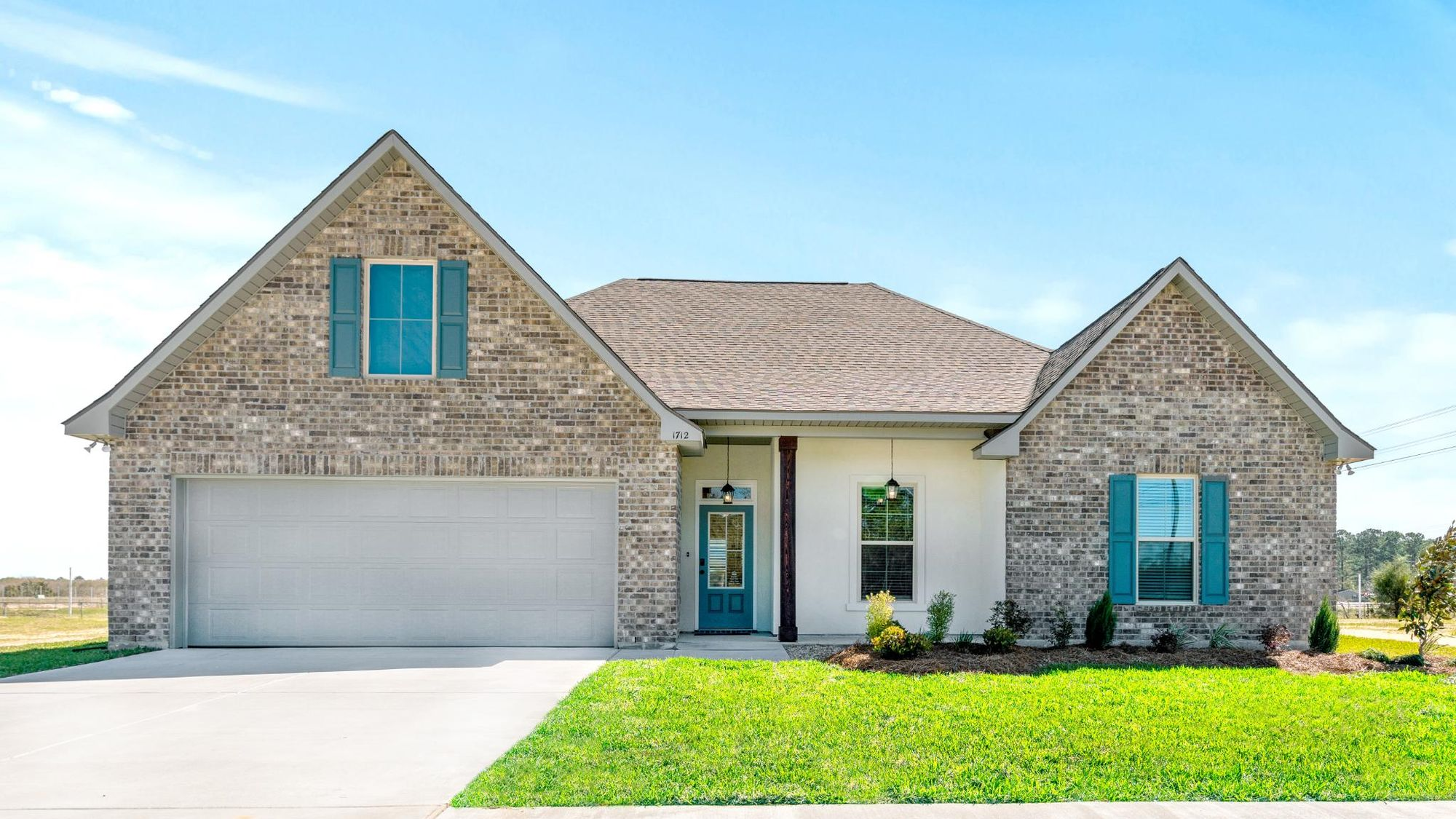 Porter's Cove Model Home Exterior - DSLD Homes - Lake Charles, LA
