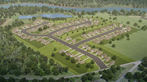 Trinity Bluff Community Rendering - DSLD Homes