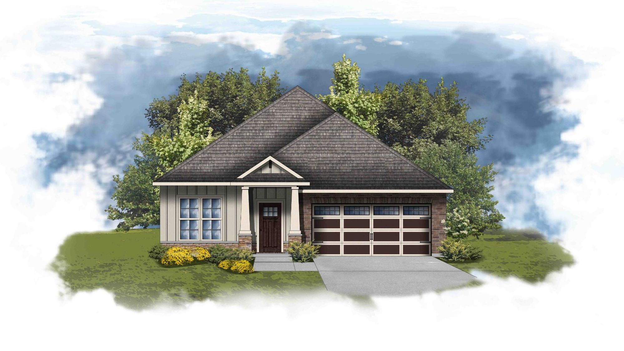 Oldtown II D - Open Floor Plan - DSLD Homes