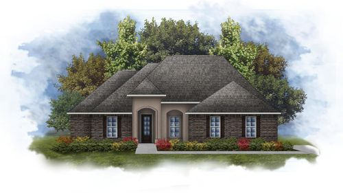 Keely II B - Open Floor Plan - DSLD Homes