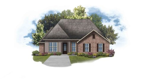 Delacroix II B - Open Floor Plan - DSLD Homes