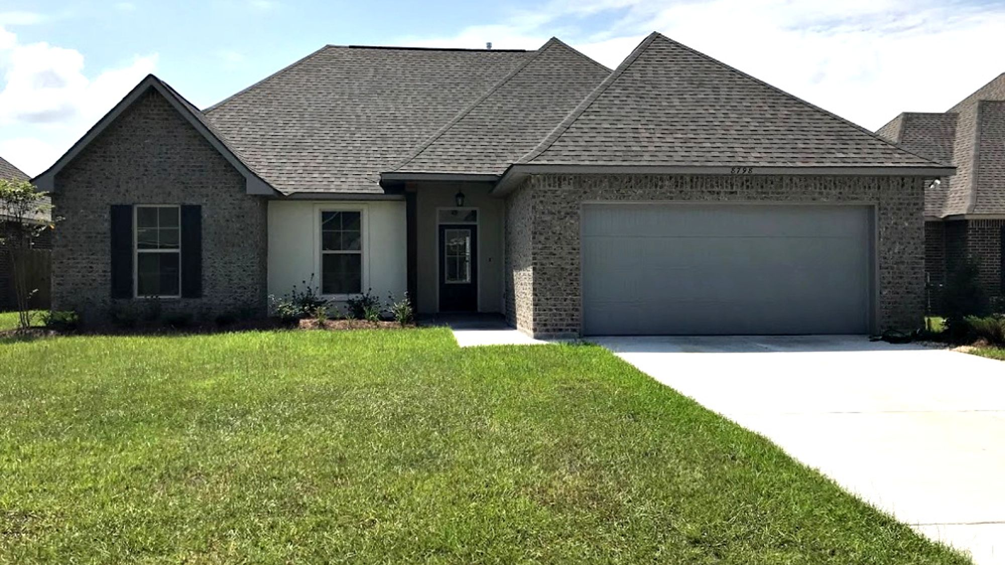 Front View - Nickens Lake Community - DSLD Homes Denham Springs