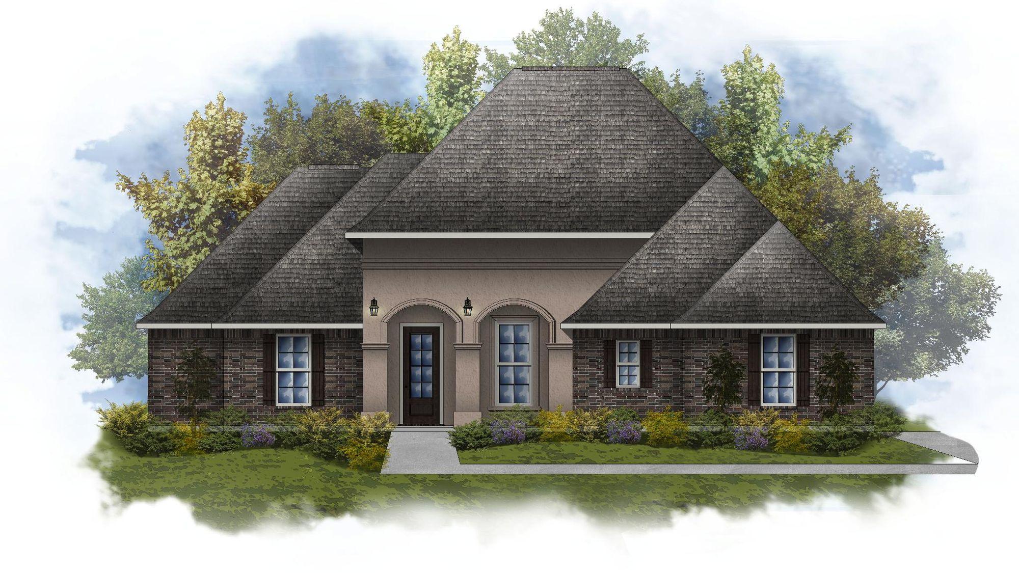 Deacon IV A - Open Floor Plan - DSLD Homes