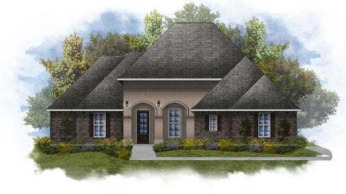 Deacon IV A - Water View - Open Floor Plan - DSLD Homes