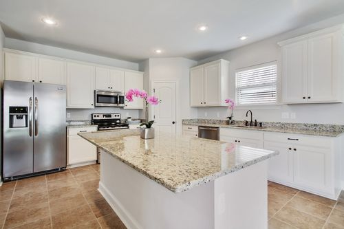 Brentwood - Model Home Kitchen - DSLD Homes - Camellia IV A - Marrero, LA