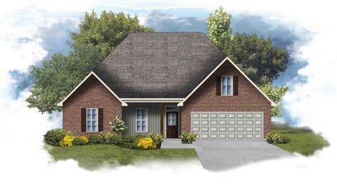 Cary IV H P4-B - Open Floor Plan - DSLD Homes