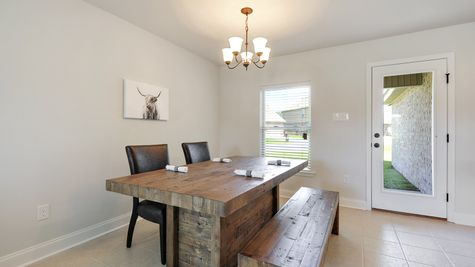 Dining Room - Belvedere Place - DSLD Homes Gulfport