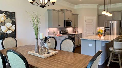 Dining Room - Nature's Trail - DSLD Homes Huntsville
