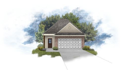 Verwood II A - Open Floor Plan - DSLD Homes