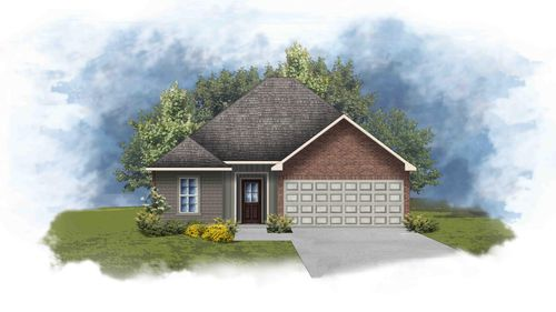 Wimbledon III H - Front Elevation - DSLD Homes