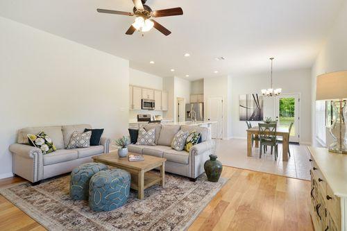 Hunter's Trace - Model Home Living Room - DSLD Homes - Banbury III A - Baton Rouge, LA