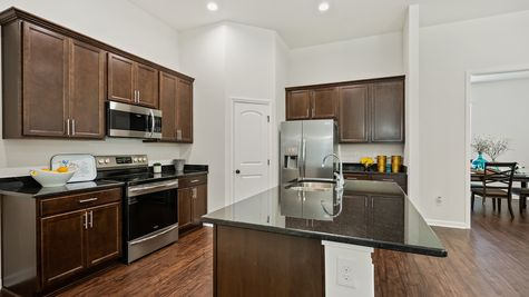 Model Home Kitchen - Gray's Creek Community - DSLD Homes - Denham Springs