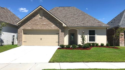 Front View  Navona III A - Spring Gardens Community - DSLD Homes Baton Rouge
