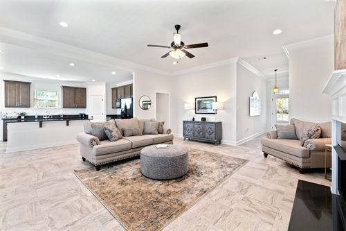 Porter's Cove - Model Home Living Room - Cognac IV B - Lake Charles, LA