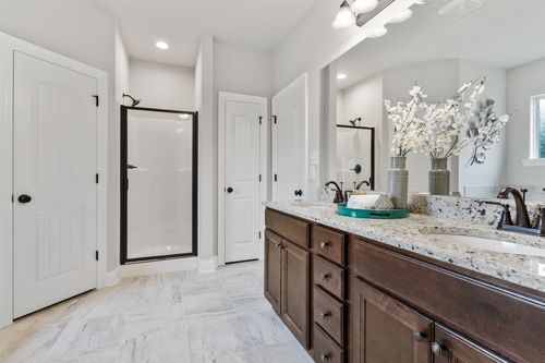 Ledgewick - Model Home Master Bathroom - DSLD Homes - Roebuck IV B - Foley, AL