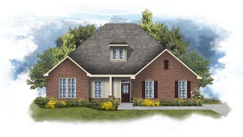 Conway II G - Front Elevation - DSLD Homes