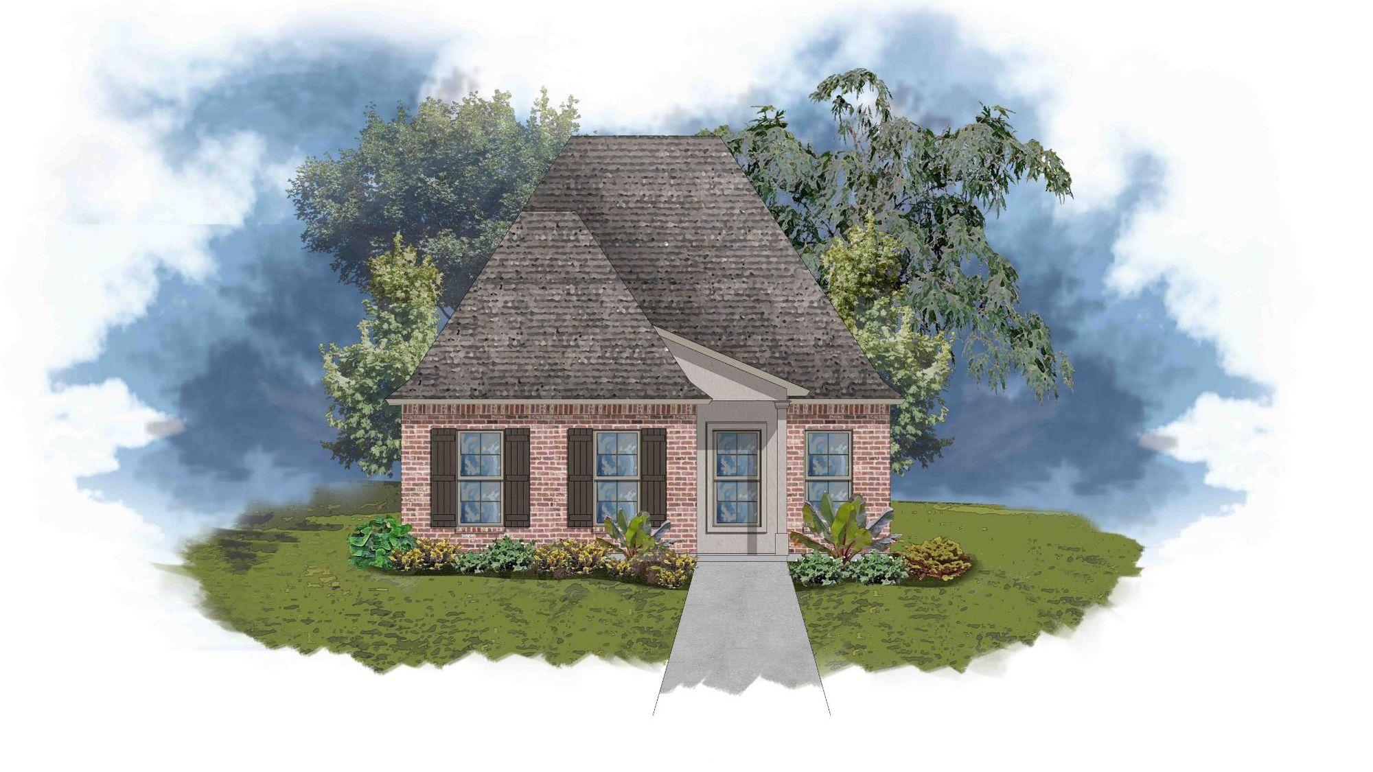 Santiago III C - Open Floor Plan - DSLD Homes