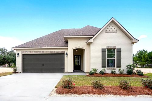 Alexander Ridge - Model Home Exterior - DSLD Homes - Toulouse III A - Covington, LA