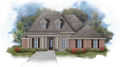 Raphael III C Open Floorplan Elevation Image - DSLD Homes
