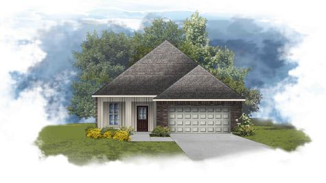 Forest IV A - Open Floor Plan - DSLD Homes
