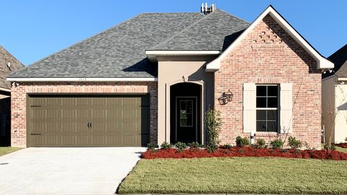 Front View Trevi III A - Spring Gardens Community - DSLD Homes Baton Rouge