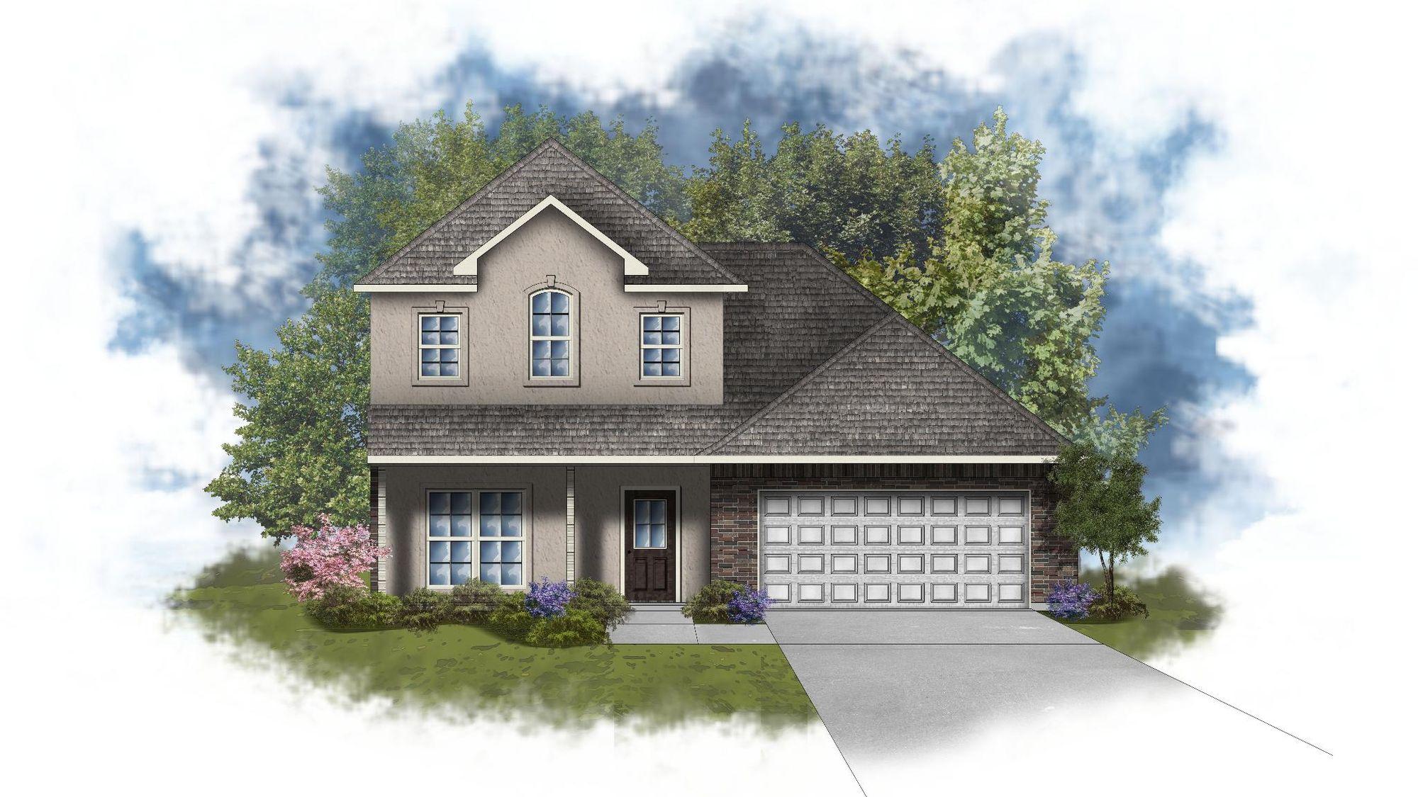 Willowbrook II B - Open Floor Plan - DSLD Homes