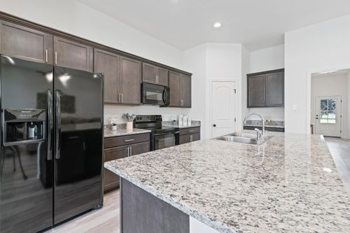 Graham Heights - Model Home Kitchen - Troy III G - Lafayette, LA