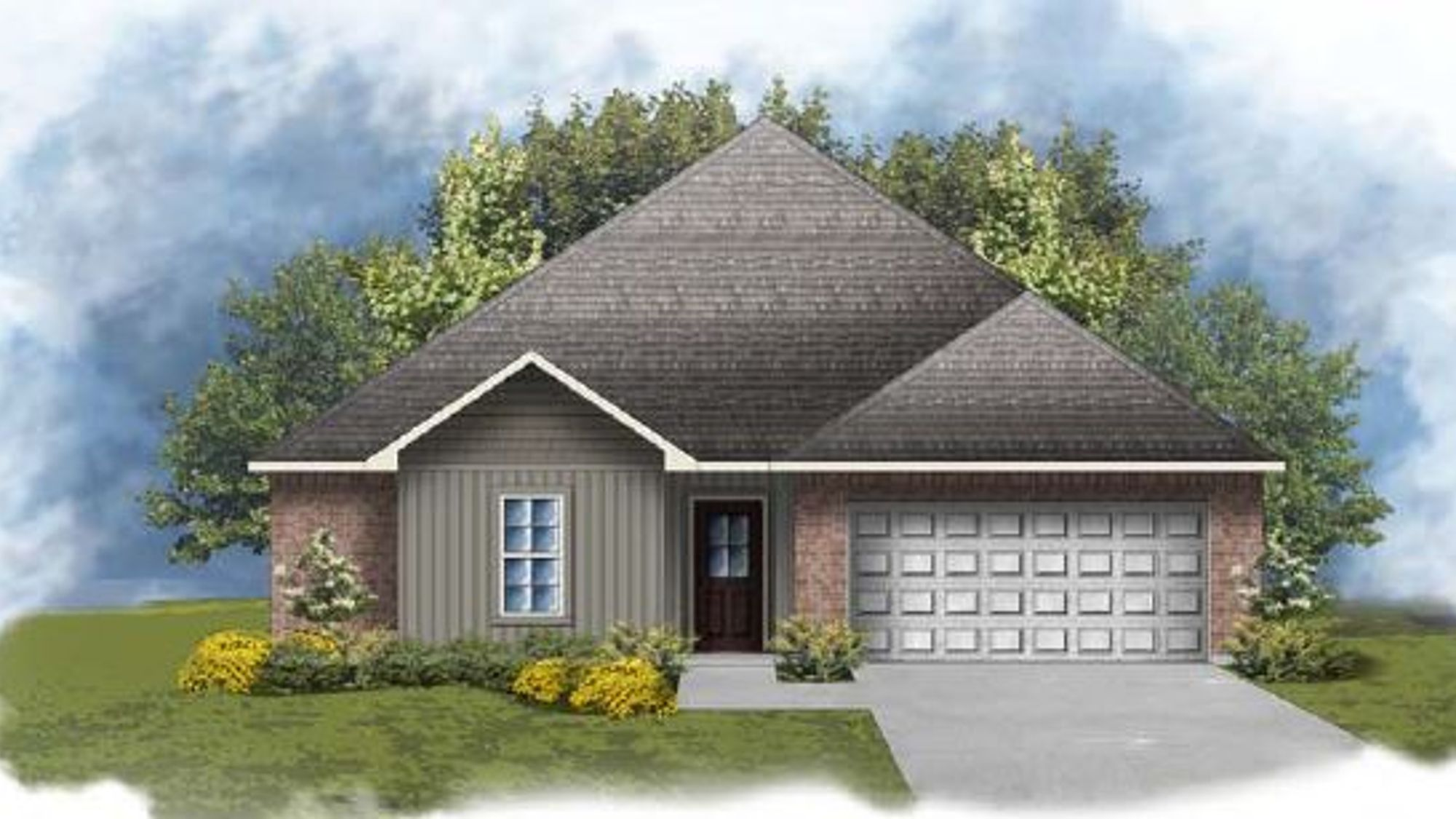 Hughes IV H - Open Floor Plan- DSLD Homes