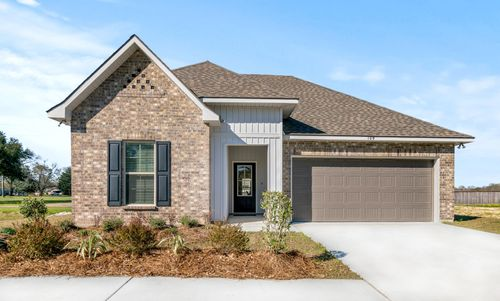 Graham Heights - Model Home Exterior - Troy III G - Lafayette, LA