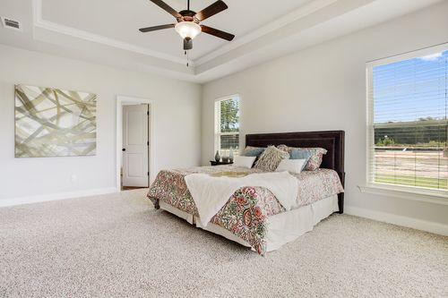 River's Edge - Model Home Master Bedroom - DSLD Homes - Dubois IV A - D'Iverville, MS