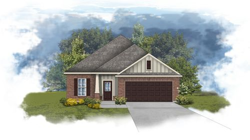 Delmar II A - Open Floor Plan - DSLD Homes