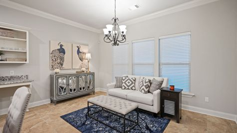 Renoir III C Plan - The Settlement at Live Oak Professional Images - Dining Room/Sitting Area - DSLD Homes