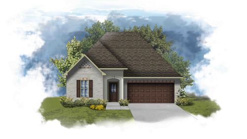 Toulouse III A - PB - Open Floor Plan - DSLD Homes