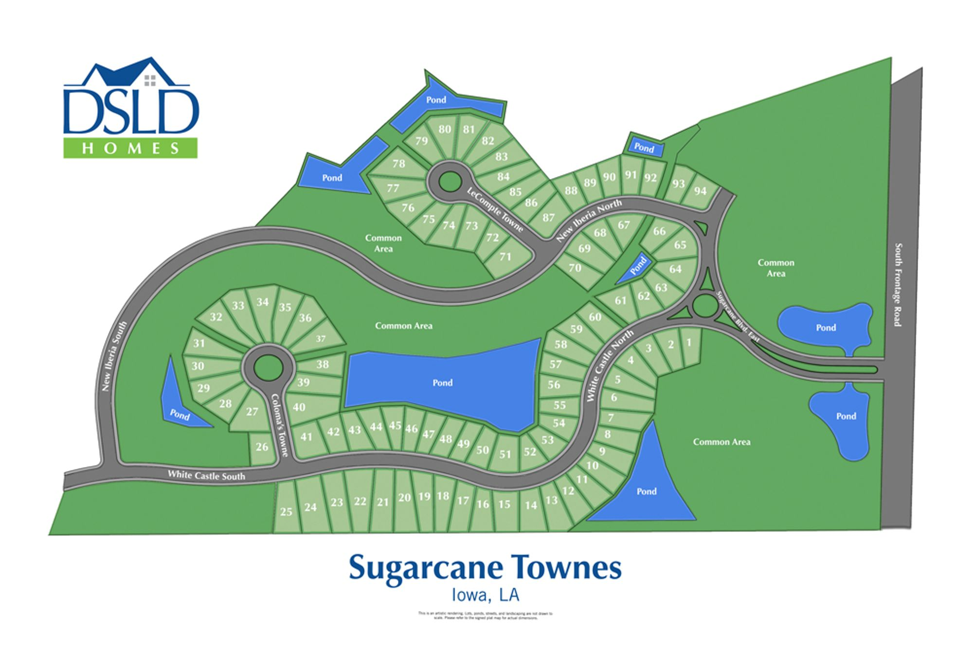 Sugarcane Townes