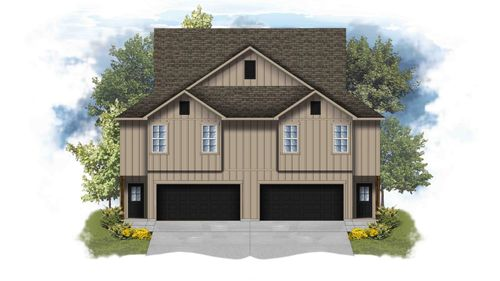 Anthony II B - Front Elevation - DSLD Homes
