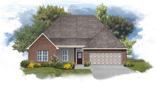 Camellia IV G - Front Elevation - DSLD Homes
