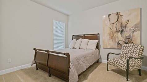 The Estates at Silver Hill Community - DSLD Homes - Sansa II A - Model Home Bedroom