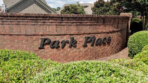 Front Entrance - Park Place Community - DSLD Homes- Huntsville, Alabama