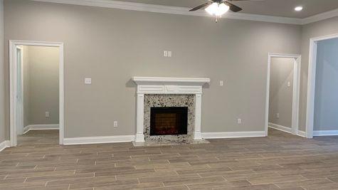 Lafayette Place Model Home- Alabama- DSLD Homes-  Living Room