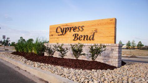 Cypress Bend - DSLD Homes - Baton Rouge, LA - Community Entrance Sign