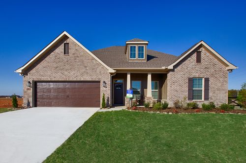 Parkside - DSLD Homes - Colebrook II A - Meridianville, AL - Model Home Exterior