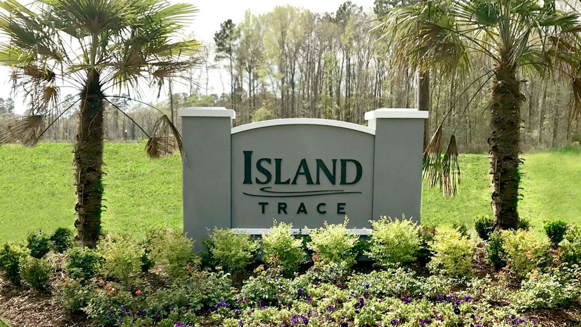 Community Sign - DSLD Homes - Island Trace in Ponchatoula