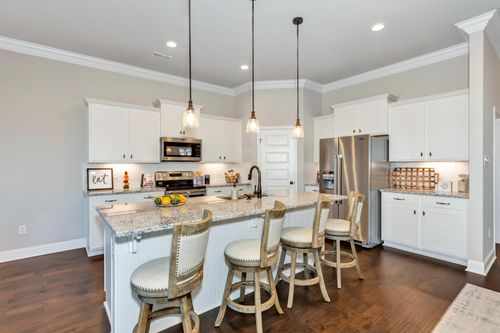 Parkside - DSLD Homes - Colebrook II A - Meridianville, AL - Model Home Kitchen