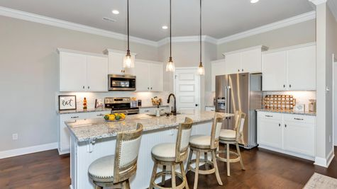 Parkside - Colebrook II A - DSLD Homes - Meridianville, AL - Model Home Kitchen