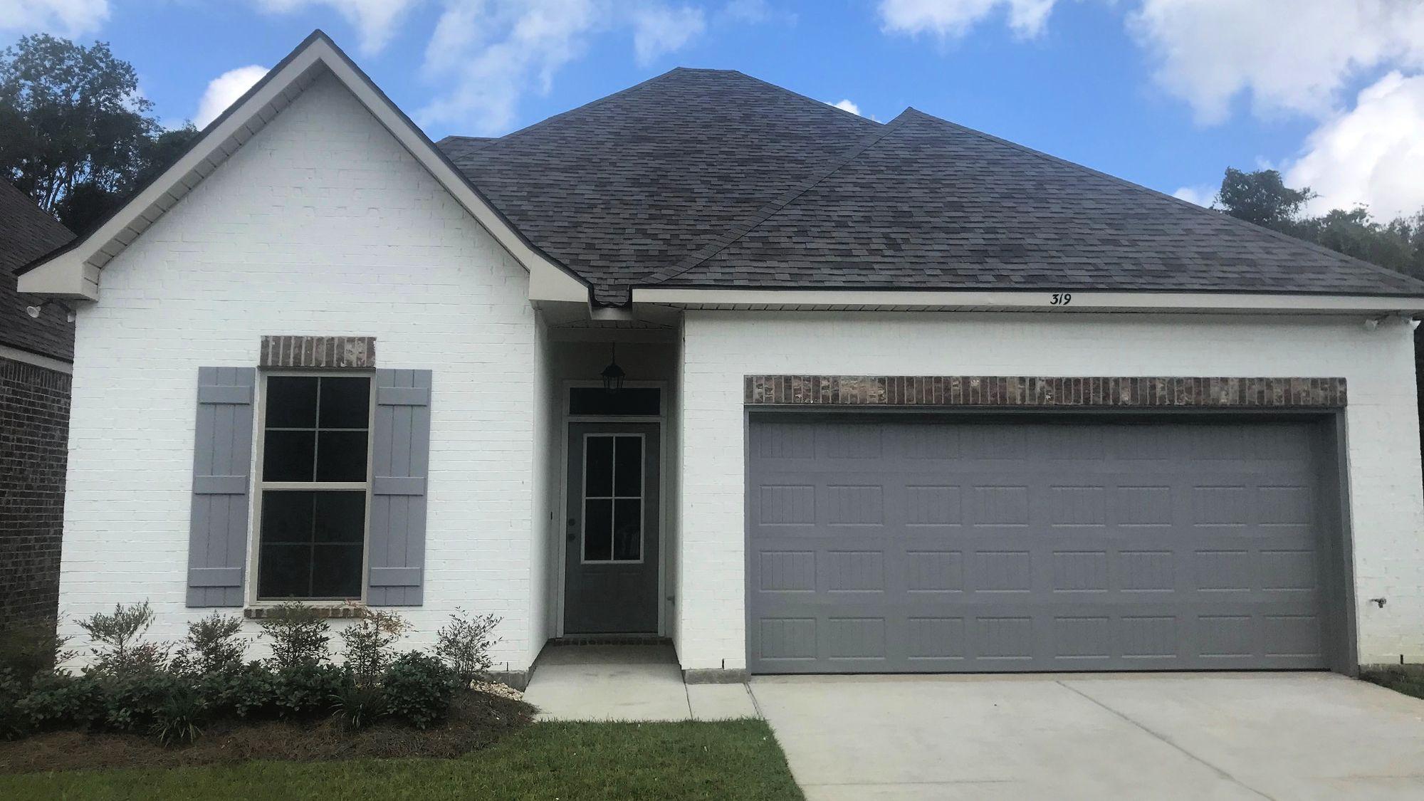 Front View - Talon Estates Community - DSLD Homes - Broussard