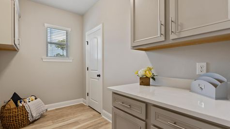 DSLD Homes- Hidden Lakes Estates- Denham Springs- Model Home Laundry Room