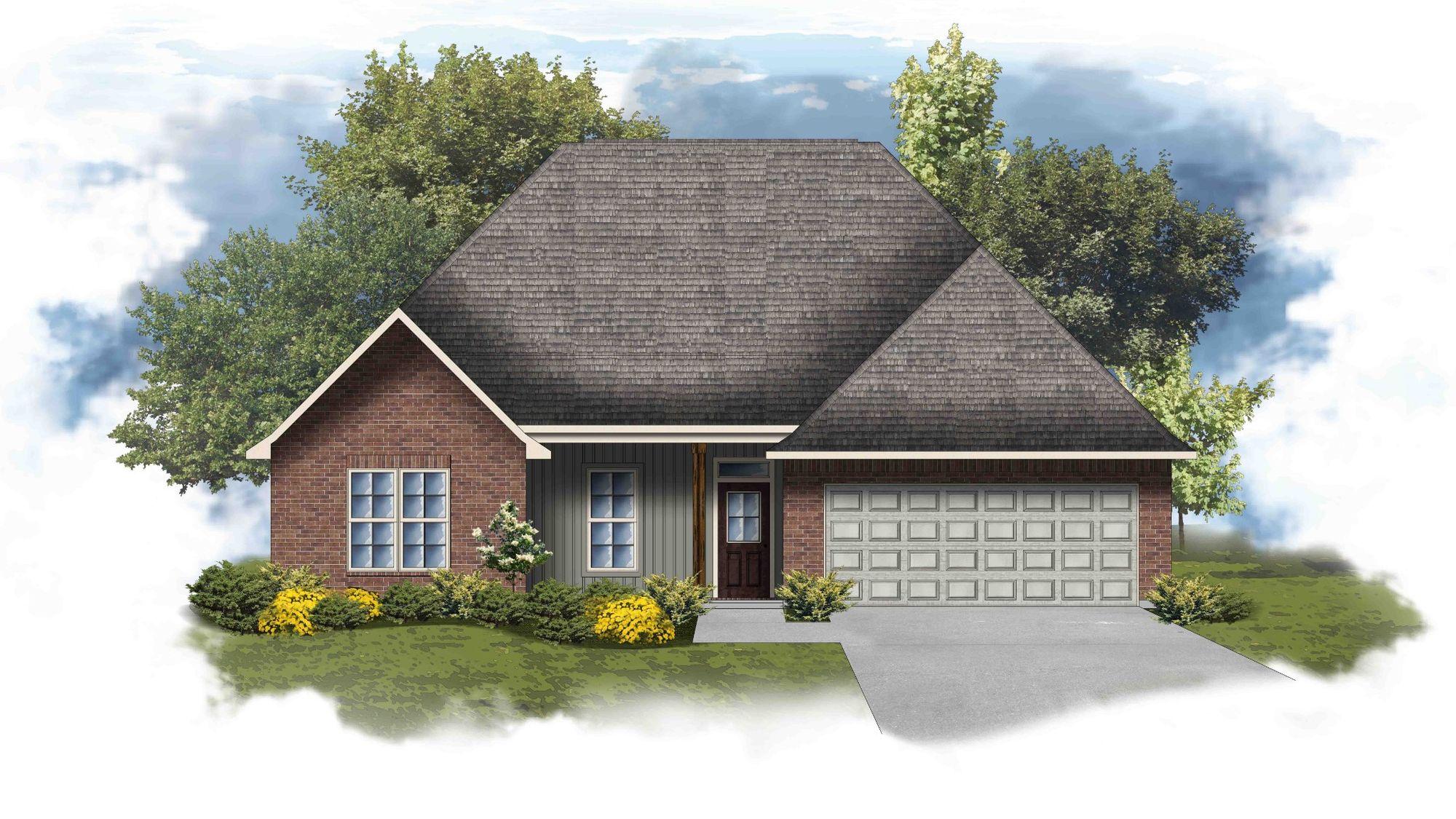 Cary IV G P4-B - Open Floor Plan - DSLD Homes